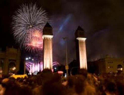 Actos en las fiestas de La Mercè en Barcelona