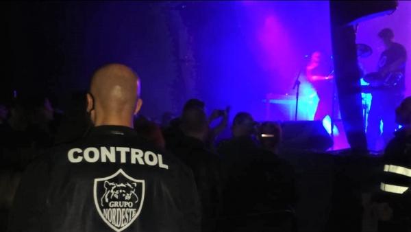 Festival DarkMad servicio controladores acceso