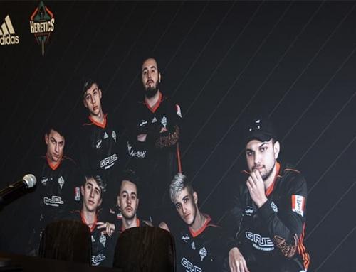 Presentación de la camiseta oficial del equipo Heretics